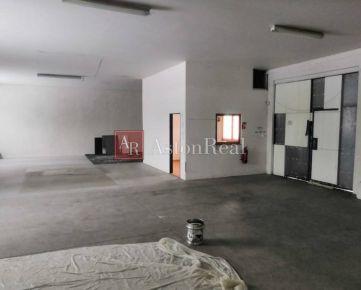 Prenájom: Murovaná hala, 163 m2, Banská Bystrica - Radvaň
