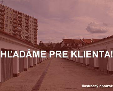 Garáž, Bratislava-Lamač, kúpa garáže pre konkrétneho klienta.