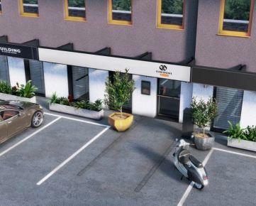 PROJEKT VYŠEHRÁD B-F01 - slnečné obchodno kancelárske priestory s veľkým plus