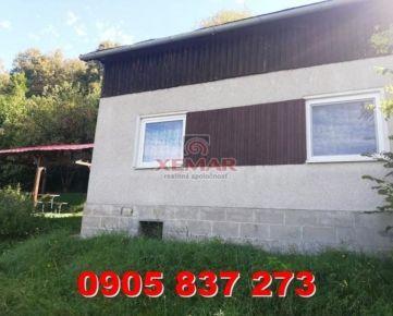 Rezervované - Exkluzívne na predaj chata v obci Zvolen pri Zvolenskej priehrade