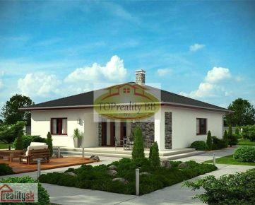 Stavebný pozemok  1 019 m2, 9 km od  Banskej Bystrice – cena 132 000€