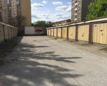 PREDANÉ>>> murovaná garáž, 19m2, Čsl. armády, Košice - staré mesto