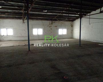 Reality Kolesár prenájom skladový priestor vo výmere 238,03 m2 na Južnej triede