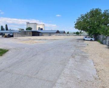 Na prenájom priemyselný pozemok / betonáreň | 2992 m2 | Rybany (okres Bánovce n. Bebravou)