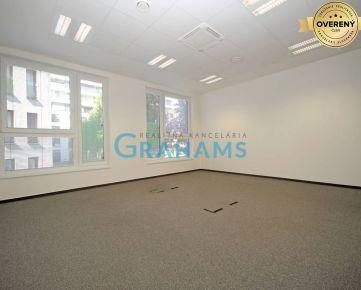 GRAHAMS - PRENÁJOM moderné kancelárie v novostavbe, k. ú. Nivy.