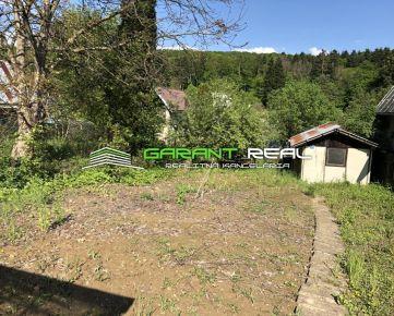 GARANT REAL - predaj pozemok, záhrada 385 m2, s chatkou a skleníkom, Prešov, Cemjata