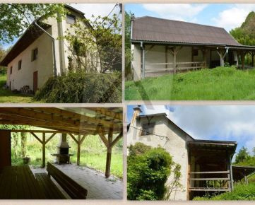 Rodinná chata na predaj, obec Píla, Žarnovica