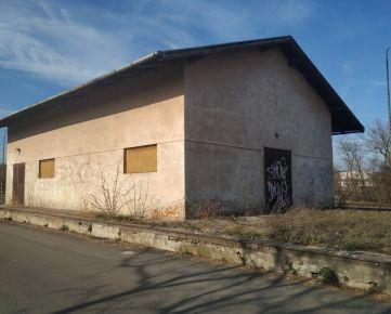 """prenájom budovy """"Sklad""""  v k.ú. Tomášovce, okres Lučenec o výmere úžitkovej plochy 156,00 m2"""