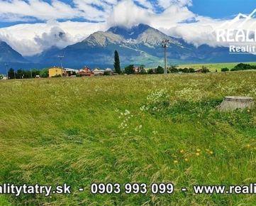 Investičný pozemok 4186 m2 s Starej Lesnej s nádherným výhľadom - ODPORÚČAME !!!