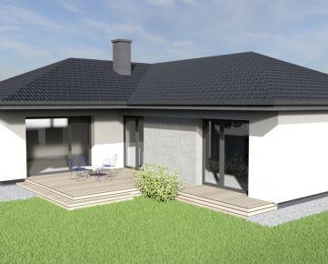 Novostavba 4i RD – bungalov, v štandarde, Cífer, len 30 min. od Bratislavy