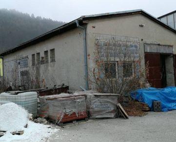 Predaj: Hala v Považskom Chlmci vhodná aj na autoumyvárku