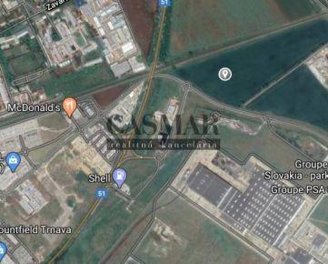 CASMAR RK - na predaj orná pôda 18. 882 m2 pri automobilke PSA