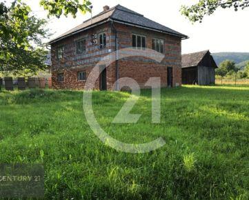 Na predaj rozostavaný rodinny dom v obci Rovné, okr.Svidník