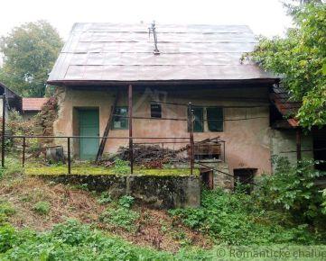Kamenný dom vhodný na chalupárčenie v obci Kšinná na predaj