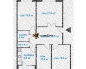 Vhodný investičný 4 izbový byt v Petržalke, Na prenájom a zhodotenie