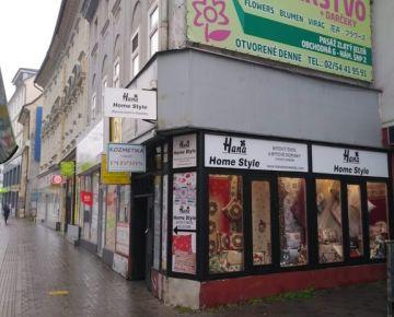 Predáme nebytový priestor na Obchodnej ul. BA 1