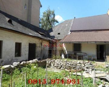 Dom v centre, vhodný na malý hotel či penzión, BB