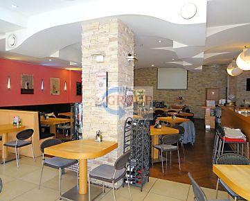Skutočne vynikajúco zabehnutá reštaurácia a penzión v srdci centra GRÉMIUM