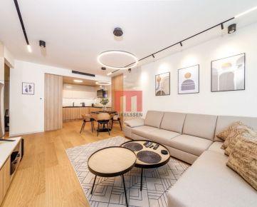Na prenájom luxusne zariadený 2 izbový byt v EUROVEA