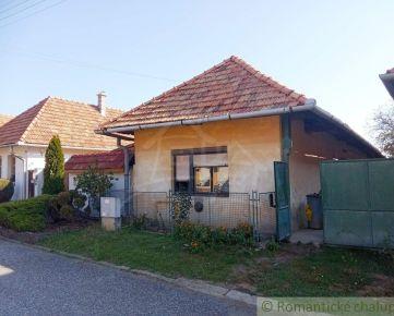 Starší rodinný dom vhodný na chalupu v blízkosti Štiavnických vrchov