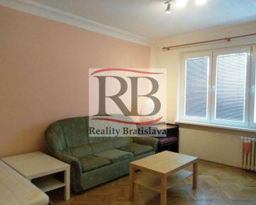 Prenájom 1i byt na ulici Rovníková v Ružinovskej lokalite