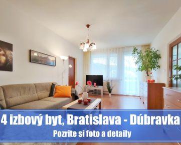 4 izbový byt v DÓBRAVKE je ideálny domov na výchovu detí