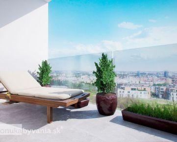 GRAND KOLIBA rezidencie – 3,5-i byt, 107 m2 - technologický NADŠTANDARD, ŠATNÍK, výhľad na mesto