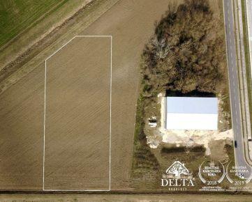 DELTA | Pozemok vhodný na priemyselnú a komerčnú výstavbu na predaj, Trenčín 4982 m2