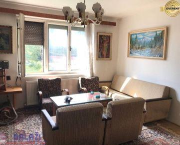 SUČANY 2 izbový byt so záhradou a garážou, 56m2