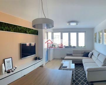 NA PRENÁJOM - Veľký 2-izbový byt v Arborií - Veterná, 60m2 + parkovacie miesto v garáži