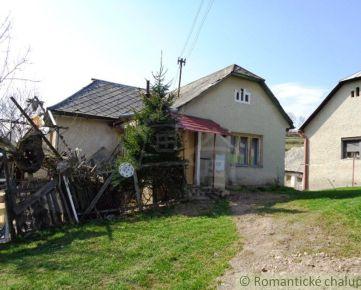 Menší dom s väčším pozemkom na Hriňovských lazoch