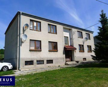 Predaj, priestranný 3-izbový byt s loggiou v príjemnom prostredí, 2 garáže, záhradka o výmere 330 m2 v osobnom vlastníctve