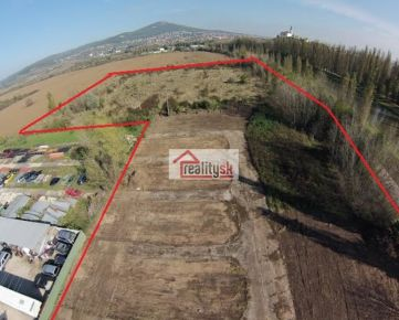 2 ha stavebný pozemok v centre Nitry - určený pre bytovú a inú výstavbu - predaj/prenájom