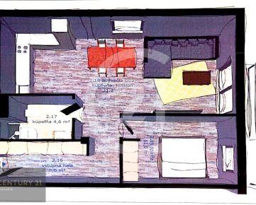 2 - izbový byt v novostavbe Poprad Matejovce