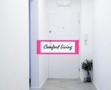 COMFORT LIVING ponúka - Kompletne zrekonštruovaný 4 izbový byt s loggiou na Janotovej ulici - nové rozvody elektriky a vody