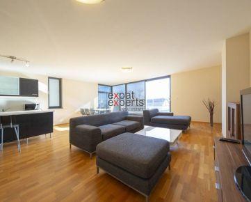 PREDANÉ Priestranný 3-izbový byt, 123m2, terasa, balkón, 2x garáž