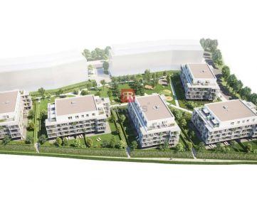 HERRYS - Na predaj 1,5 izbový apartmán s balkónom v projekte Nový Ružinov