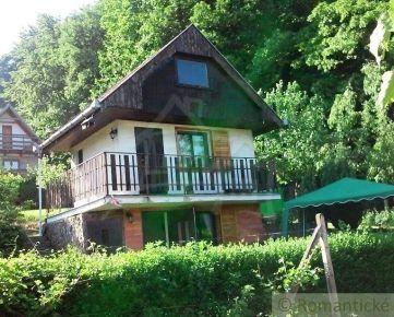 Chata v krásnom prostredí záhradkárskej osady v obci Sološnica na predaj
