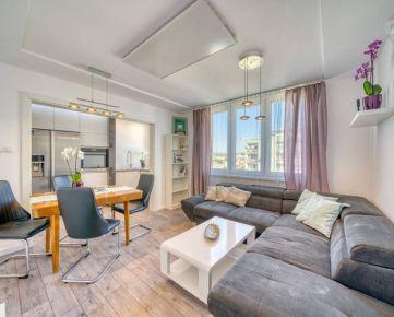 Kompletne zrekonštruovaný 3 izbový byt s veľkou terasou