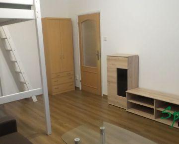 Ponúkame Vám na prenájom praktický 1 izb. na Nejedlého ul.