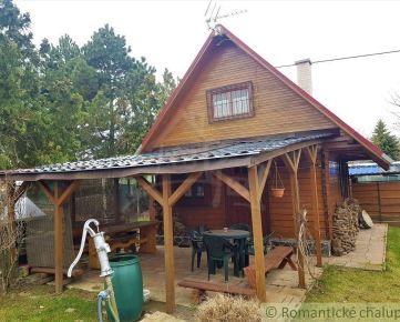 *VIDEOOBHLIADKA*Drevená dvojpodlažná chatka s pozemkom v blízkosti rieky Váh v obci Kráľová nad Váhom na predaj