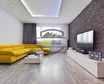 REZERVOVANE - krásny 3-izbový byt, kompletná rekonštrukcia, LOGGIA