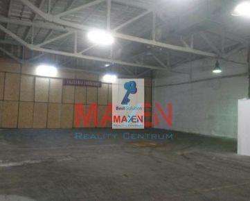 Výrobná hala, skladový alebo prevádzkový priestor 440m2 v priemyselnom areáli Košice Nad Jazerom