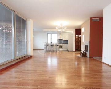 Priestranný 5i byt na prenájom v Bratislave, 2 kúpeľne, terasa