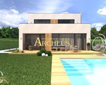 Novostavba, 4-izbový rodinný dom v uzavretom areáli, Hrubá Borša, Senec