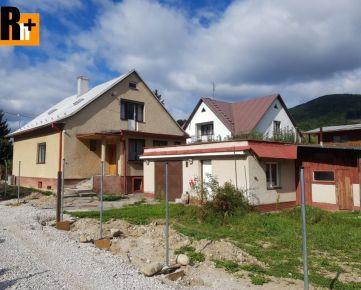 Žilina 475m2 Rajecké Teplice pri Centre na predaj rodinný dom