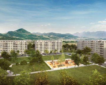 1i byt v novostavbe Zelené Vlčince (C.206)