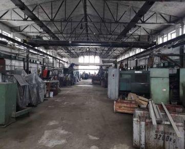 Prenájom veľkej výrobnej haly v Kežmarku