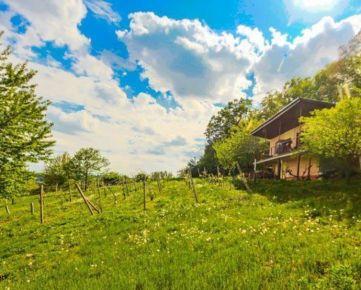 Ardanovce, okr . Topolčany – 2 izbová chata na samote s krásnym výhľadom