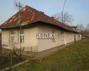 KONEX REALITY – Rovný rodinný dom v tichom prostredí obce Choňkovce
